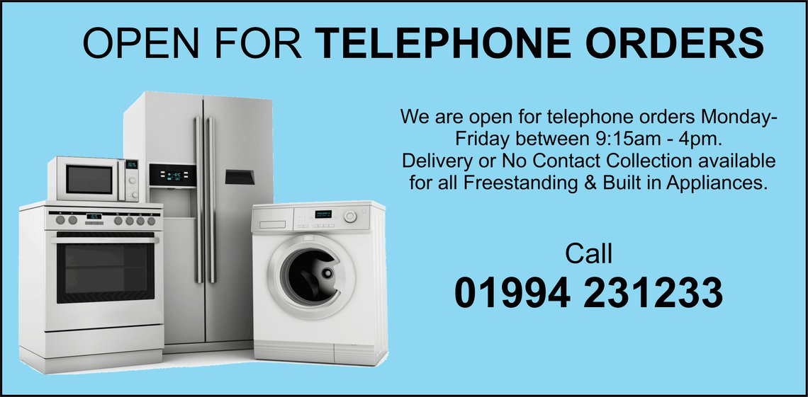 freestanding and built in appliances in stock carmarthen pembroke st clears